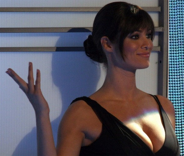 Manuela Arcuri sourire