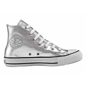 Baskets Converse All Star Silver