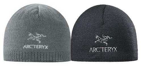 Bonnet Arcteryx gris