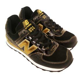 Baskets New Balance M574J Black Mic