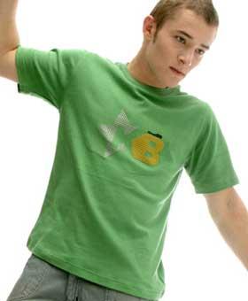 T-shirt vert KanaBeach