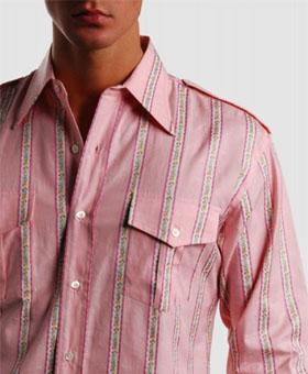 chemise-comme-des-garcons-rose