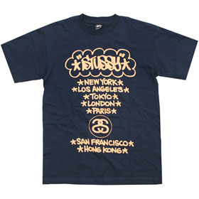 T-shirt Stussy World Tour par Haze