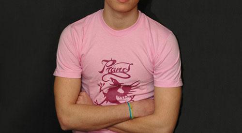 T-shirt Prand rose