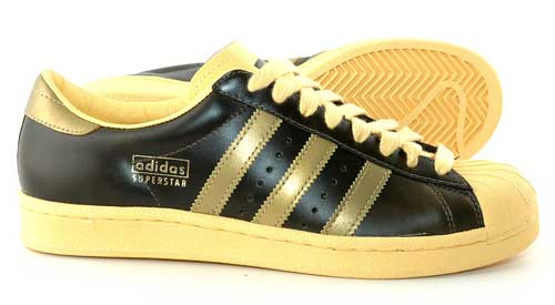 Baskets Adidas Superstar vintage de lux