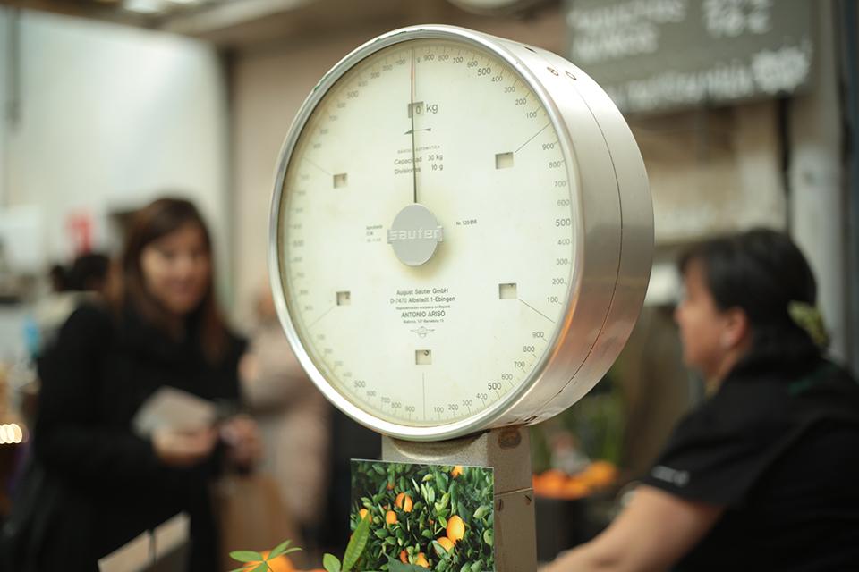 Balance mesure poids