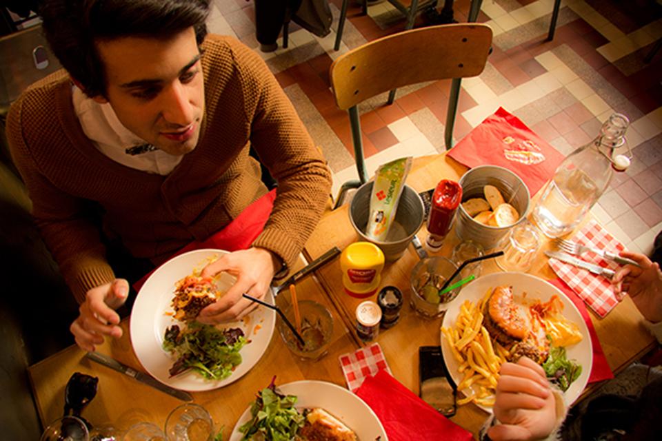 Burger table miam