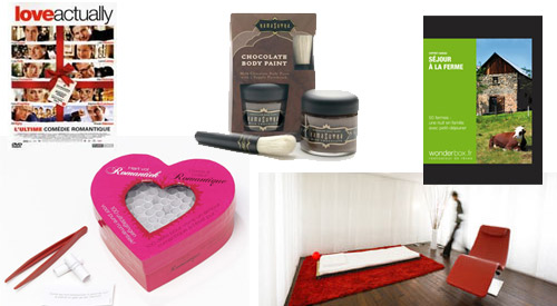 selection saint valentin
