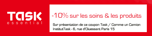 coupon réduction task