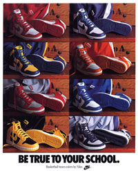 nike dunk poster