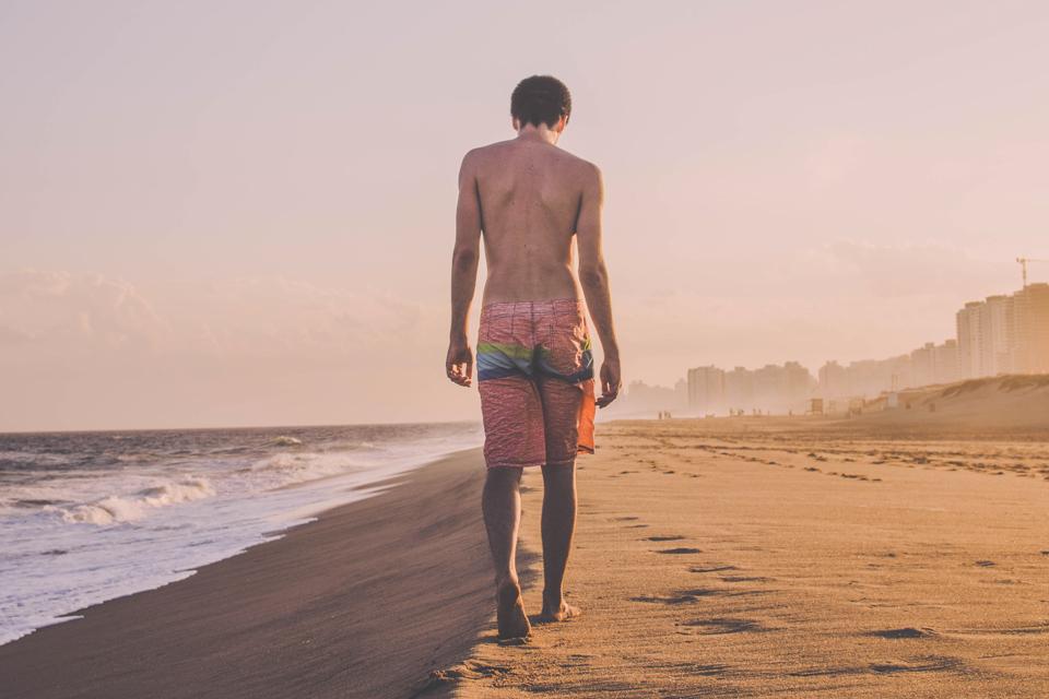 Homme plage boardshort