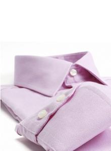 chemise rose clair