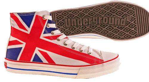 Baskets Underground Union Jack