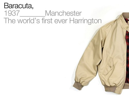 baracuta original harrington