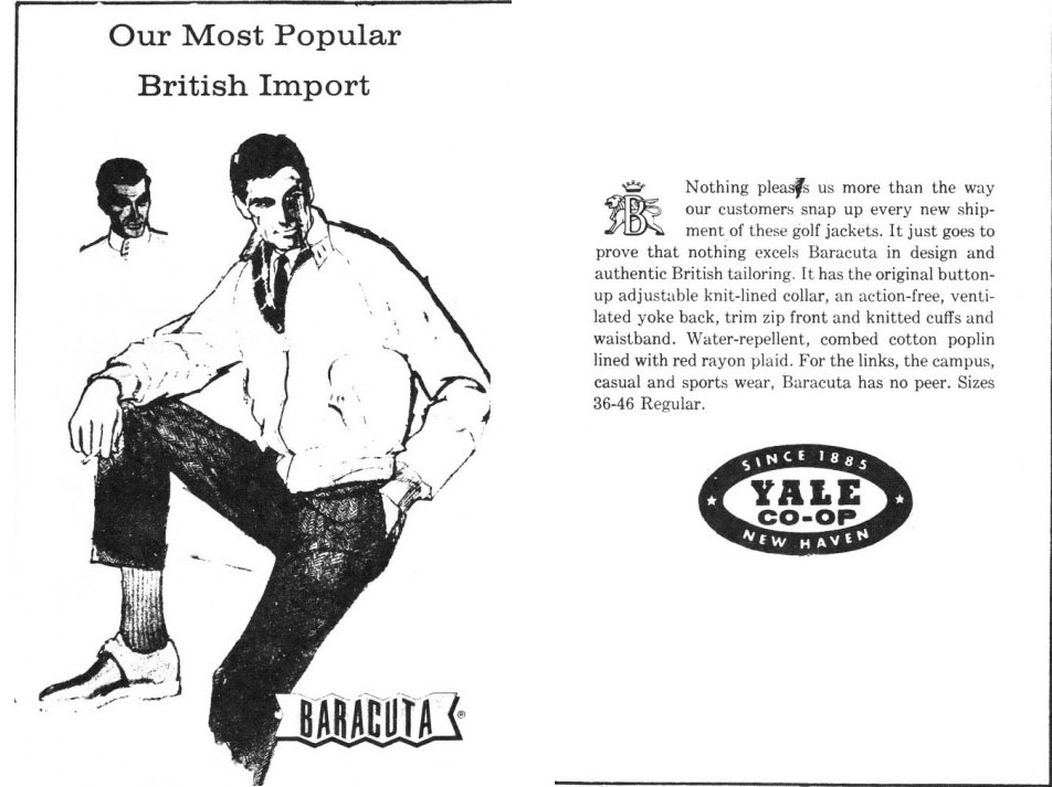 baracuta vintage ad