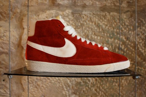 Nike Blazer rouge