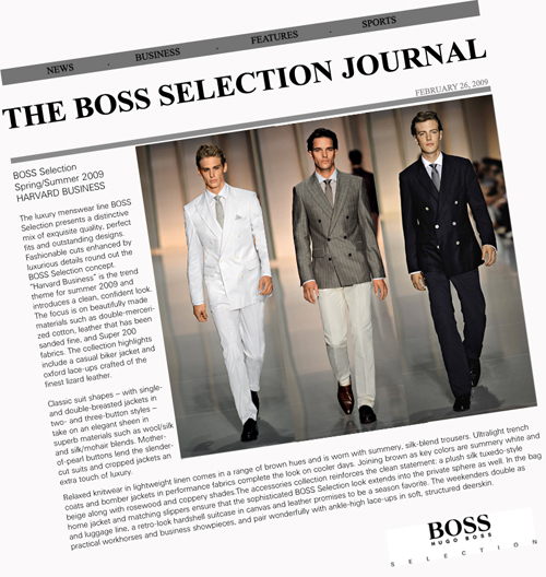 boss selection journal