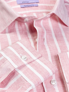 chemise-lin-rose