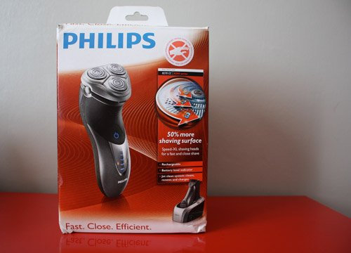 Rasoir Philips 8200 packaging