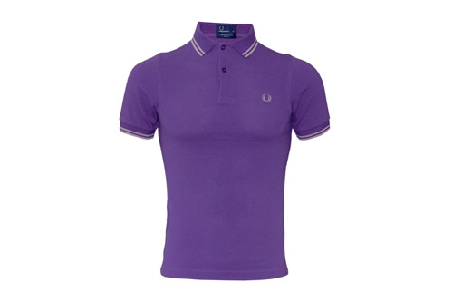 Polo Fred Perry violet
