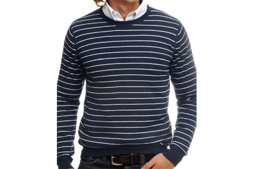 Pull marin col rond