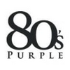 Logo 80's Purple