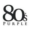 Logo 80's Purple