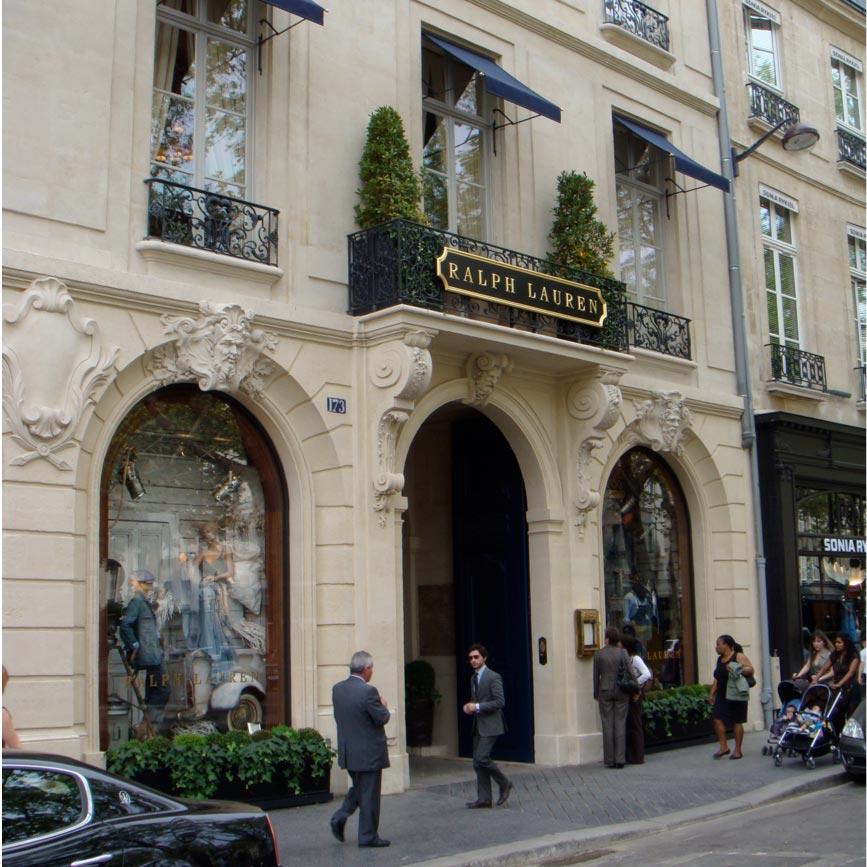 d3ee17f3b454 Ralph Lauren Paris Saint-Germain   horaires, adresse, téléphone, plan, avis