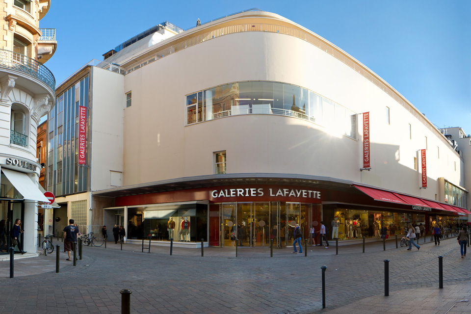 Galeries lafayette toulouse horaires adresse t l phone plan avis - Galeries lafayette bron horaires ...