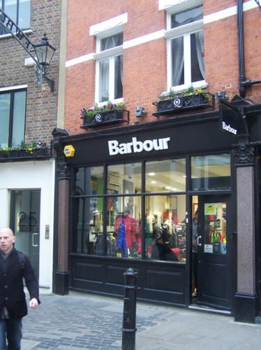 Boutique Barbour Toulouse