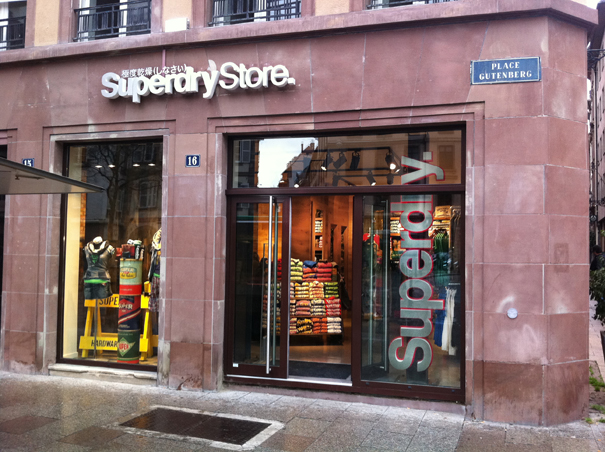 superdry strasbourg horaires adresse t l phone plan avis. Black Bedroom Furniture Sets. Home Design Ideas