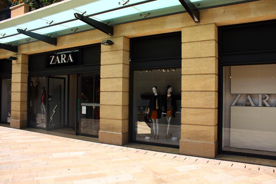 Zara aix horaires adresse t l phone plan avis - Restaurant le grand jardin baume les messieurs ...