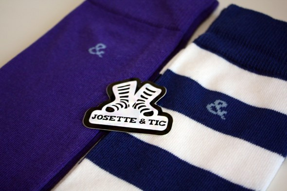 Chaussettes Josette & Tic