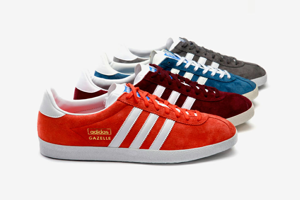adidas gazelle bleu et orange
