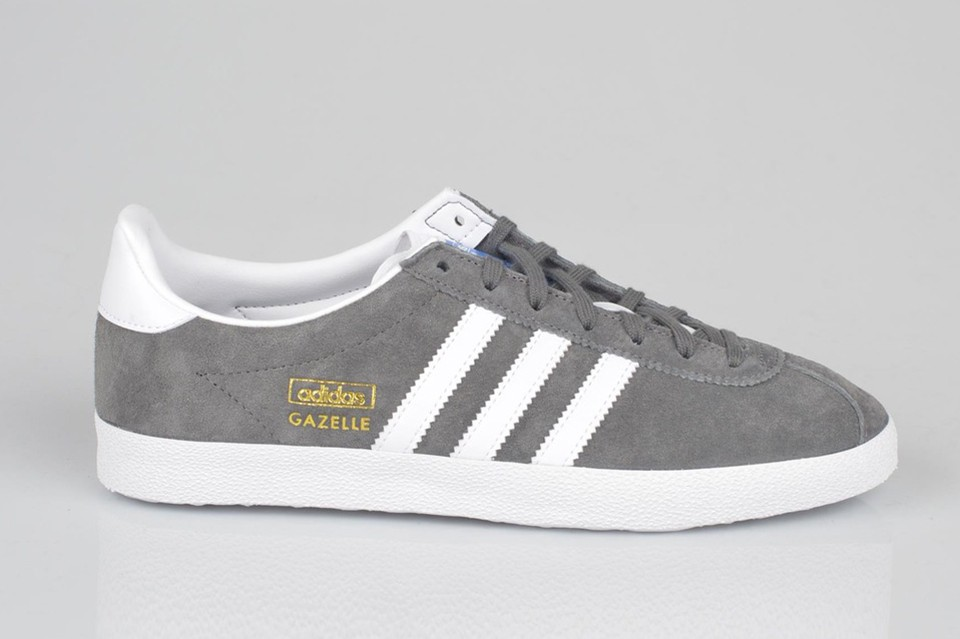 chaussures adidas gazelle femme grise