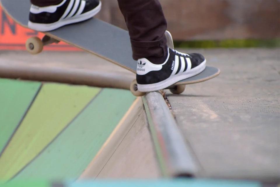 Adidas Gazelles Skateboarding