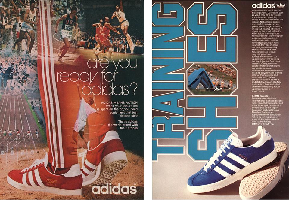 histoire adidas gazelle