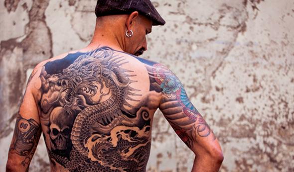 tatouage asiatique