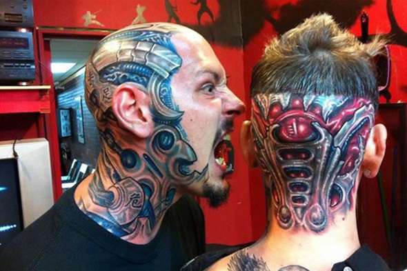 tatouage bimecanique