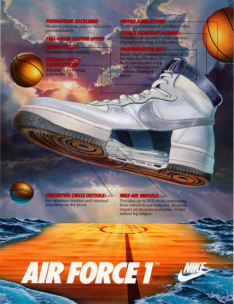 1982 nike air force 1