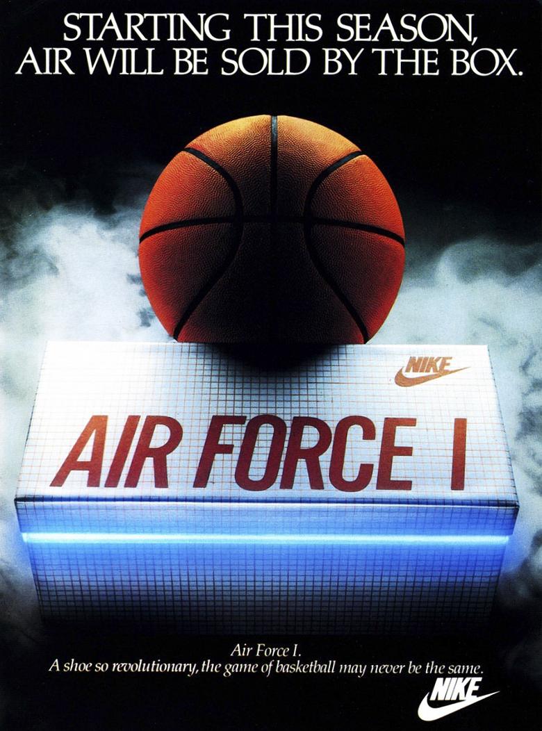 Pub Nike Air force One