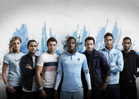 FFF presentation maillot Nike
