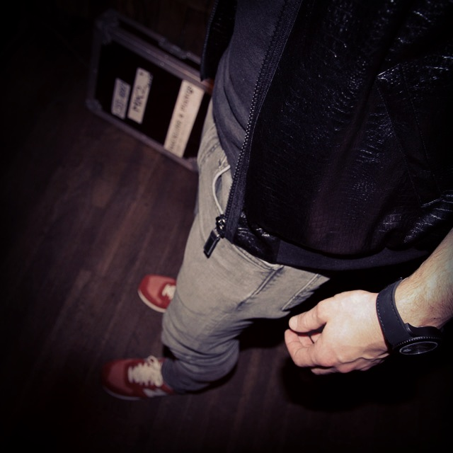 pantalon et sneakers