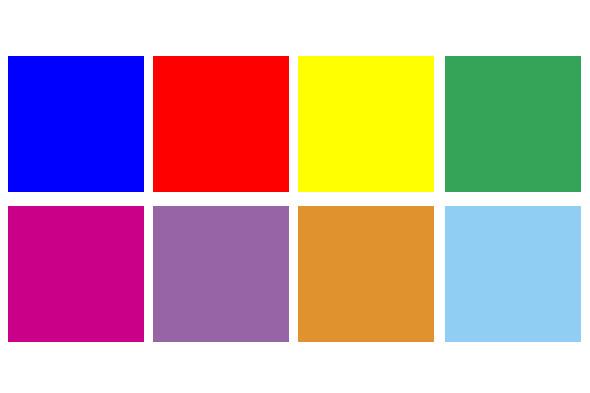 couleurs ss13