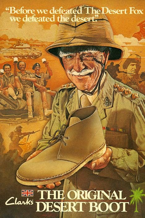 Nathan Clark Desert boot pub vintage