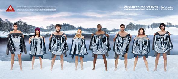 Columbia Omni Heat campaign