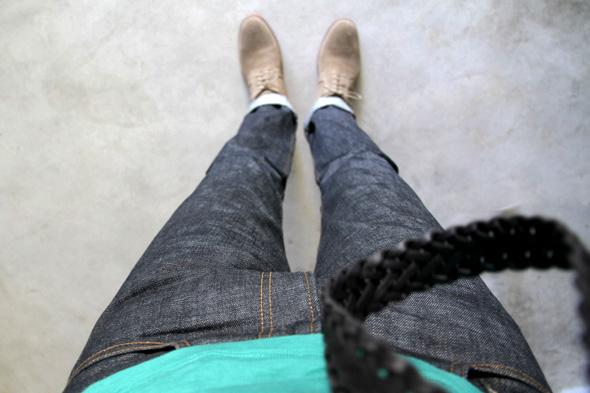 jeans renhsen porté