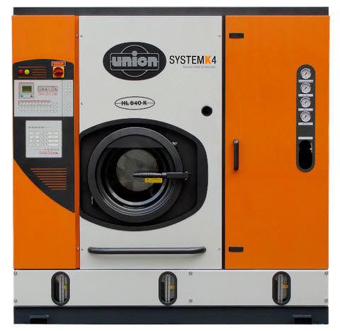 Machine professionnelle de nettoyage à sec ©Union
