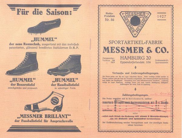 Premier catalogue Hummel