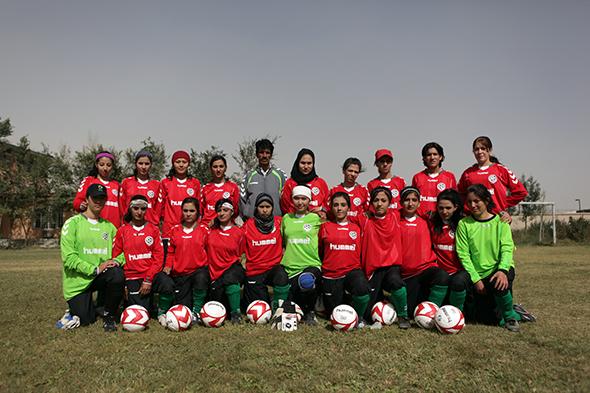Hummel équipe l'équipe féminine d'Afganistan